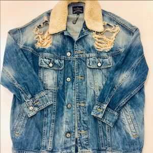 Vivienne Westwood distressed denim jacket M